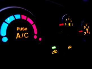エアコンのスイッチ