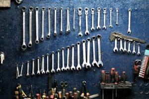 オートバックス車検で見積もりする工具一式