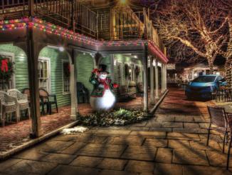 クリスマスの夜にフィットで出かける